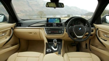 BMW 335i interior
