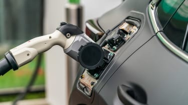 Mazda EV prototype - charging