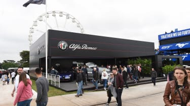 Alfa Romeo Goodwood stand