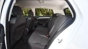 Long-term test - VW e-golf - rear bench