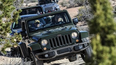 75 years of Jeep - Wrangler front