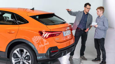 Audi Q3 Sportback - rear studio detail