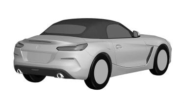 BMW Z4 sketch - rear