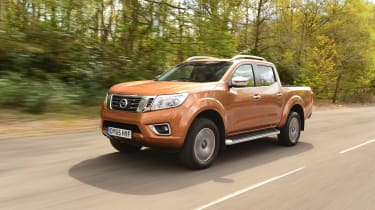 Nissan Navara long-term - front tracking