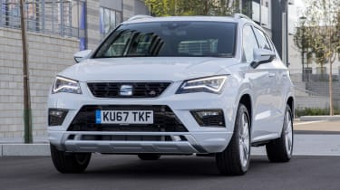 SEAT Ateca 2.0 TSI - front action
