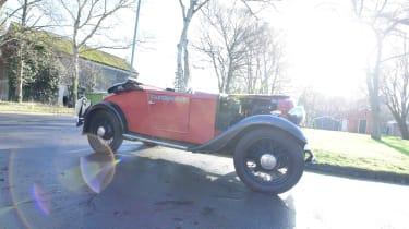 Classic car - side