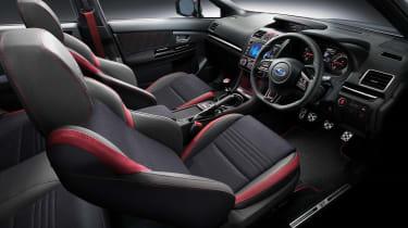 Subaru WRX STi Final Edition interior