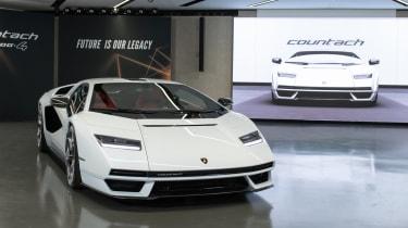 Lamborghini Countach LPI 800-4 studio