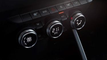 Dacia Duster - centre console