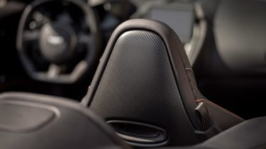Aston Martin DBS Superleggera Volante - seat detail
