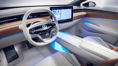 Volkswagen ID. Space Vizzion - dash