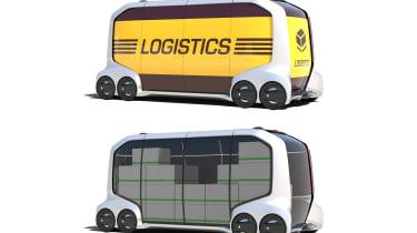 Toyota e-Palette - logistics
