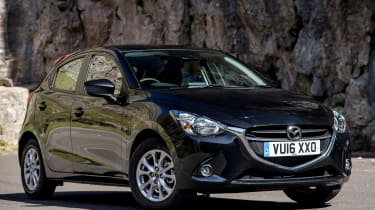 Mazda 2 Red Edition - front quarter