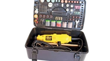 Wolf 135W Crafter Ultimate Rotary Multi Tool & 240pc Accessories