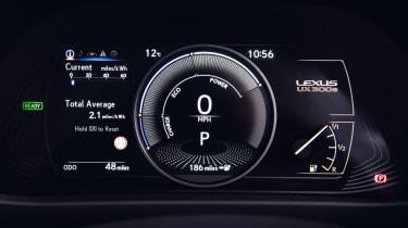 Lexus UX 300e - dials