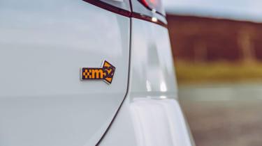 VW Golf GTI & R Mountune badge