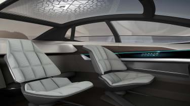 Audi Aicon concept - seats