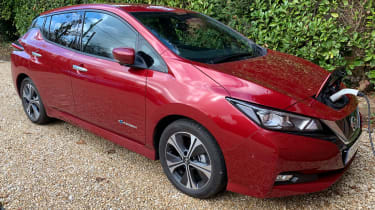 Nissan leaf long termer charging