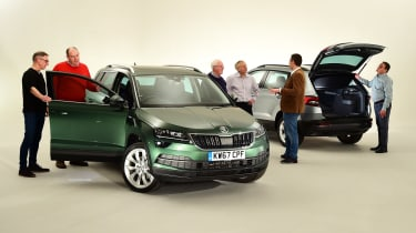 Skoda Karoq meets its customers