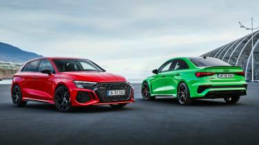 Audi RS 3 range