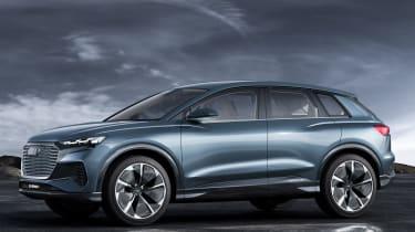 Audi Q4 e-tron concept - side