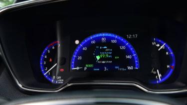 Suzuki Swace - dials