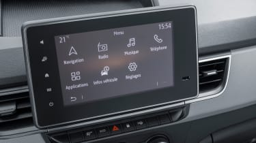 Renault Kangoo Van - screen
