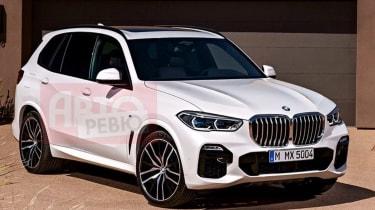Leaked 2018 BMW X5 pic