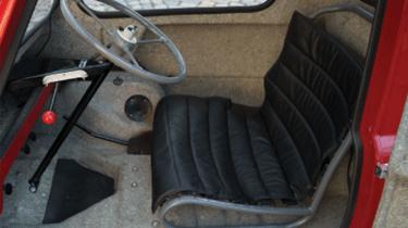 Peel P50 interior