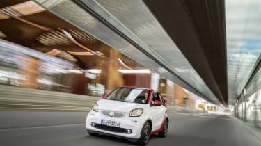 Smart ForTwo Cabrio - tracking