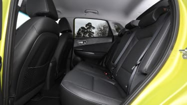 Hyundai Kona Electric rear seats