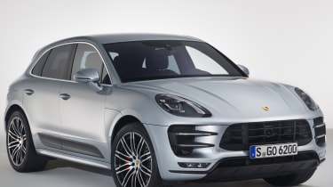 Porsche Macan Turbo Performance Pack - front quarter