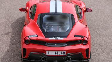 Ferrari 488 Pista - full rear static
