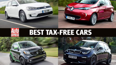 Best tax-free cars 2019 - header