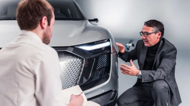Audi e-tron Sportback concept - front detail studio