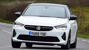 Vauxhall Corsa - front cornering