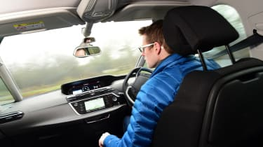 Citroen C4 Picasso long-termer - Sean Carson driving