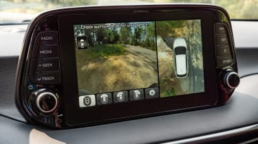 Hyundai Tucson - rear-view camera