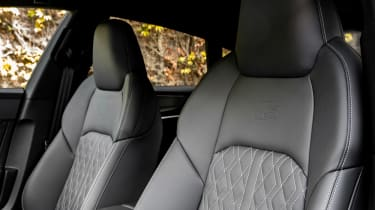 New Audi S7 Sportback - seats