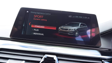 Alpina B5 Touring - infotainment