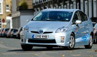 Toyota Prius Plug-in front three-quarters
