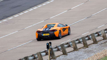 Britain's driverless car network - McLaren 570S