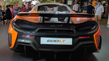 McLaren 600LT rear end