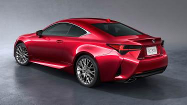 Lexus RC - rear