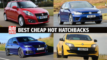 Best cheap hot hatchbacks