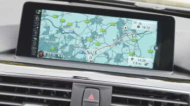 BMW iDRIVE - screen