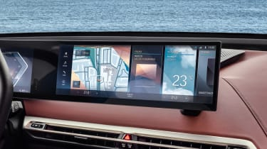 BMW iDrive 8 - infotainment screen