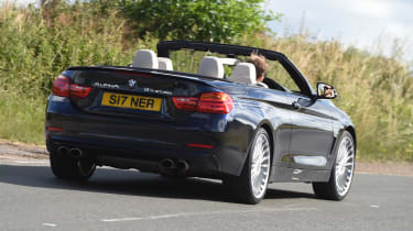 Alpina B4 Biturbo Cabrio 2016 - rear cornering
