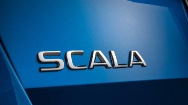 Skoda Scala - Scala badge