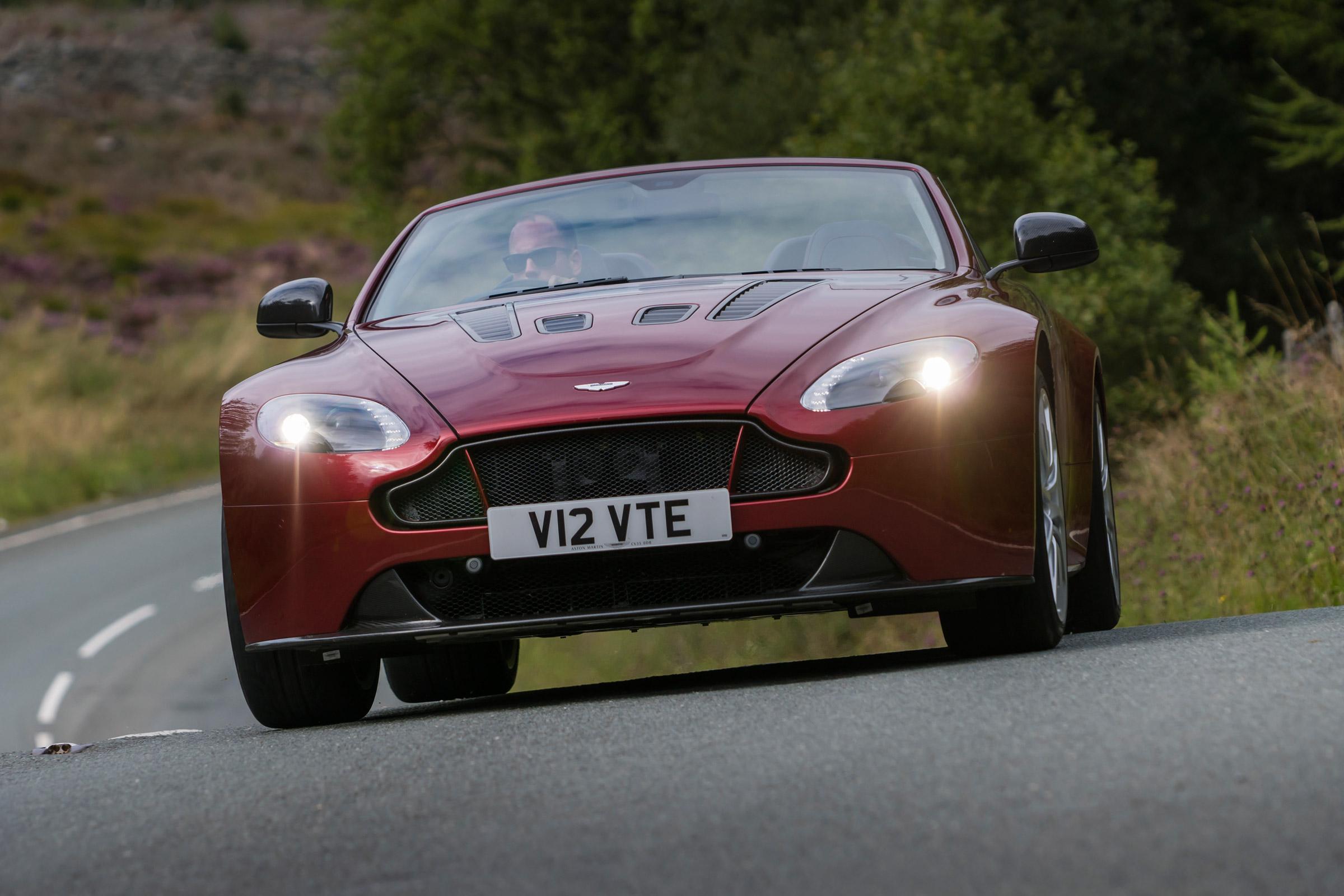 Aston Martin V12 Vantage S Roadster Review Auto Express